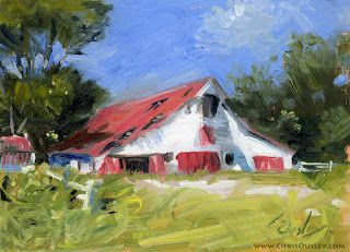 Primm-Owen Barn Oil 5x7 $100