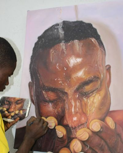 Africa youngest HYPER-REALISM Artist
