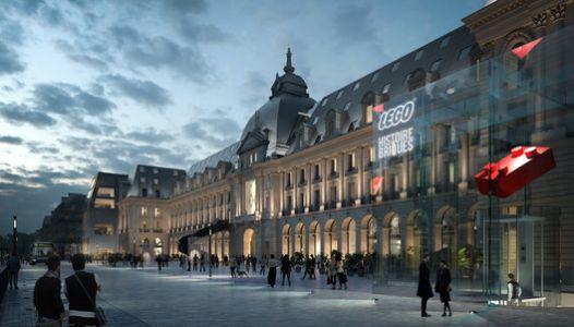 MVRDV to Transform Historic Palais du Commerce in Rennes