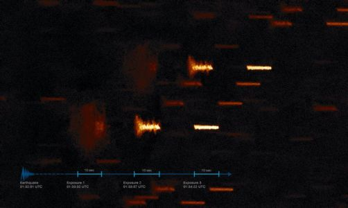 Astrophotography Can Capture Seismograms During Earthquakes
