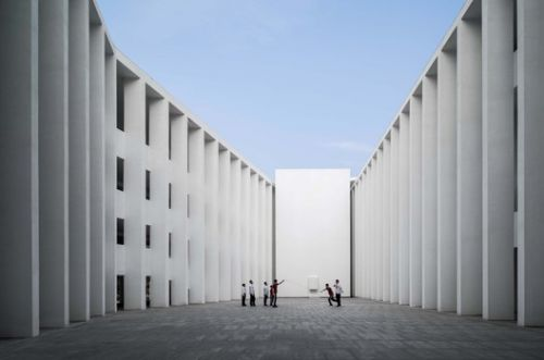 Huandao Middle School / TAO - Trace Architecture Office