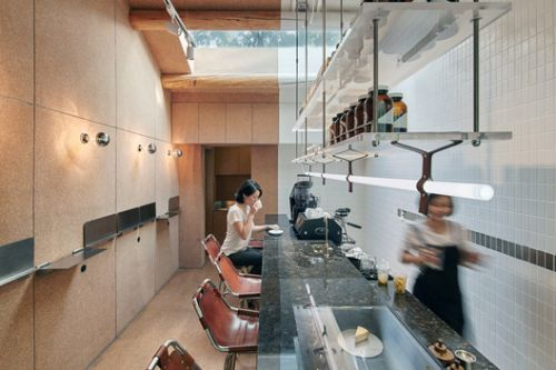 Small Cafe Designs: 20 Aspirational Examples in Plan & Section