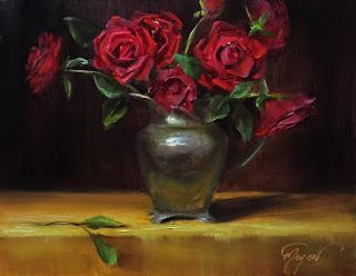 Valentine Roses by artist Pat Meyer