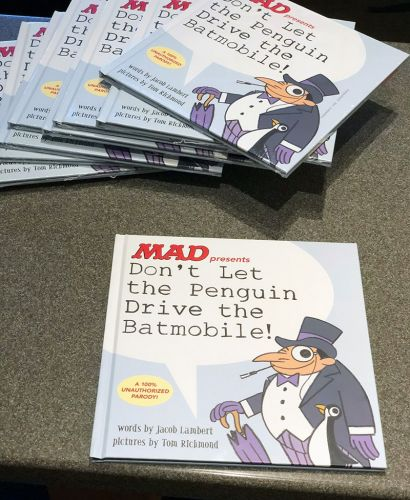 Monday MADness: Penguin Book Unboxing!