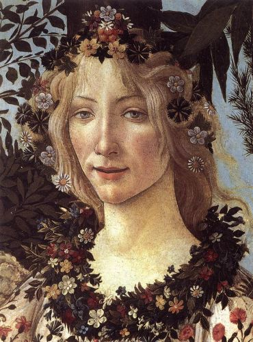Celebrating The Earth's Beauty - 1482 Goddess Flora, Goddess of Flowers