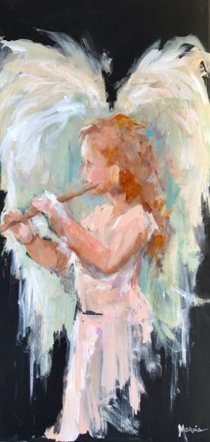 Little Angel With Flute