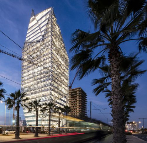 Casablanca Finance City Tower / Morphosis Architects