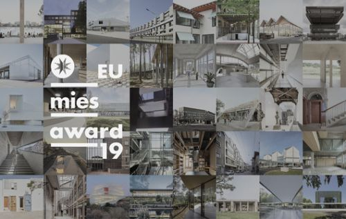 Shortlisted Projects Announced for the EU Mies Award 2019
