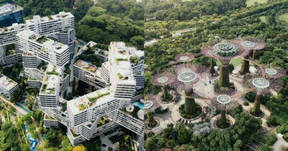 Photos of Utopian Sustainable Spaces in Singapore