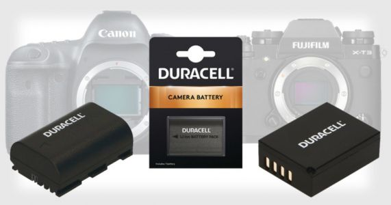 Duracell Sells Cheap Batteries for DSLR and Mirrorless Cameras