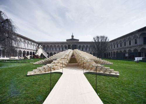 """Future Space"" Pavilion Salone del Mobile 2018 / Peter Pichler Architecture"