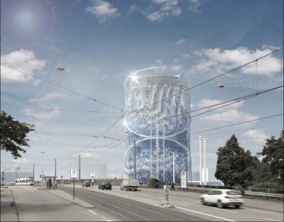 LAVA Unveils Transformation of Energy Storage Center into a City Icon in Germany