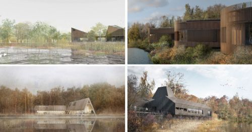 RIBA Announces Competition Shortlist for Innovative Nature and Wellbeing Center in Sevenoaks