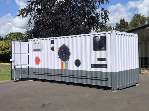 Photographer Turns Huge Shipping Container into Working Camera