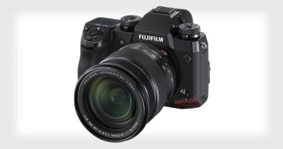 Fujifilm X-H1 Photos and Specs Leaked: In-Body Stabilization Arrives