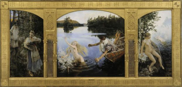 Gallen-Kallela Paints the Kalevala