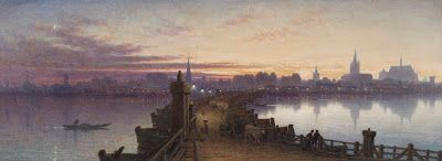 Waller Hugh Paton, Cologne from the Bridge of Boats