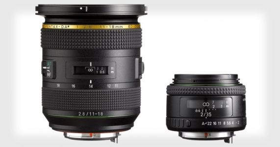 Ricoh Unveils Pentax 11-18mm f/2.8 and 35mm f/2 K-mount Lenses