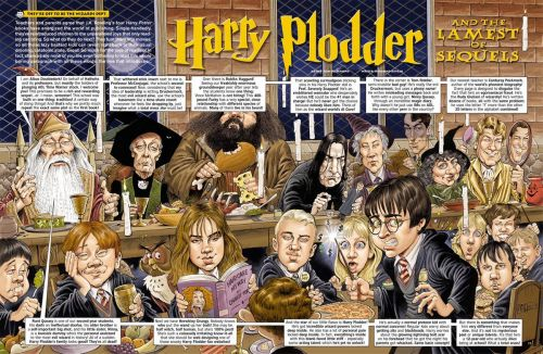 Monday MADness- Harry Plodder and the Lamest of Sequels!