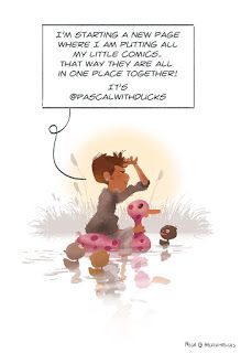 Pascal with ducks