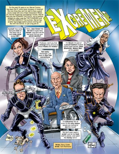 Illustration Throwback Thursday 49: X-Men for Cracked!