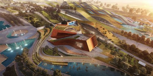 UNStudio Wins France's Largest Private Architecture Competition for Cultural Cinema Center in EuropaCity