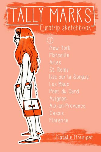 Tally Marks: Eurotrip sketchbooks!