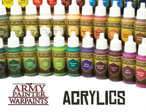 Review: The Army Painter's Warpaints 1 - Acrylic Paints