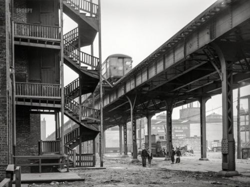 Playtime Under the El: 1941