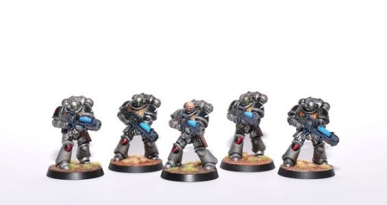 Showcase: Guardians of the Covenant Primaris Hellblaster Squad by FruitBear
