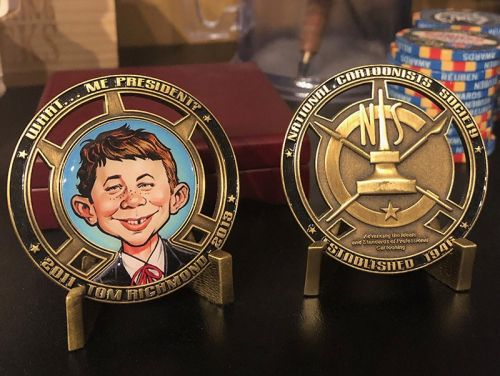 Stuff from My Studio 13: Challenge Coins!