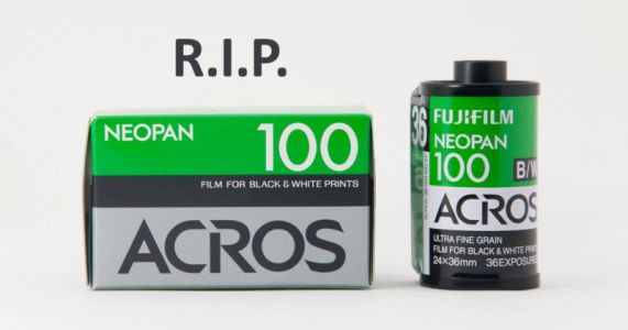 Fujifilm Officially Killing Off All B&W Film and Photo Paper