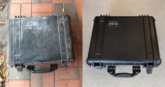 You Can Restore an Old Pelican Case with a Heat Gun