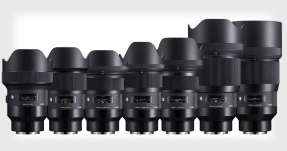 Sigma Unveils the First 9 Art Lenses for Sony E-Mount