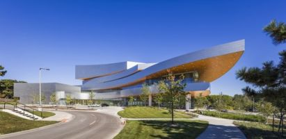 Hancher Auditorium / Pelli Clarke Pelli Architects
