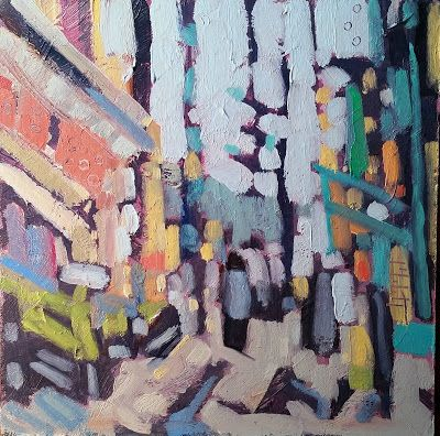 Abstract Art Contemporary Impressionism Original Painting