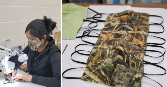 LensCoat is Using Its Sewing Skills to Make Masks for Health Care Workers