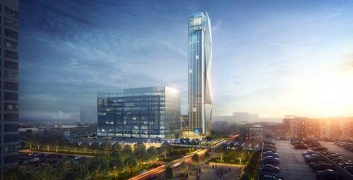 "Thyssenkrupp's ""High-Rise Elevator Test Tower"" in Atlanta to Experiment with Cable-Free, Sideways-Moving Systems"