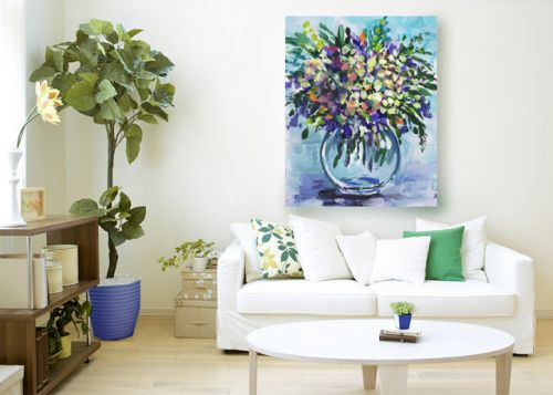 Flowers Impressionism - New Collection For Home Decor and Merchandise