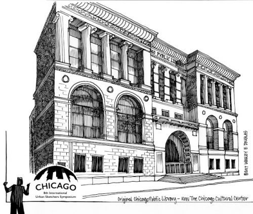 The Chicago Cultural Center - Formerly Chicago's Central Public Library