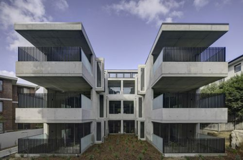 Bellevue Hill Apartments / Glyde Bautovich