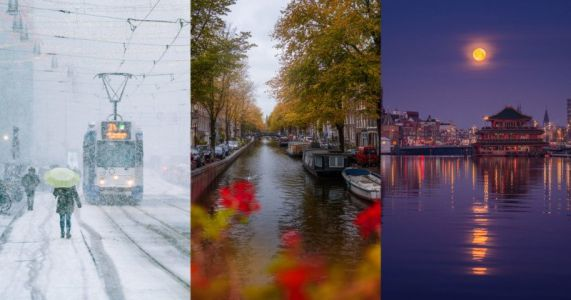 20 Photos of My Hometown of Amsterdam During Different Seasons