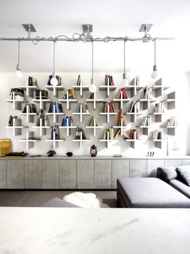 Home Library Architecture: 63 Smart & Creative Bookcase Designs