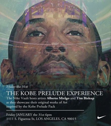NIKE ART SHOW on KOBE BRYANT- Los Angeles