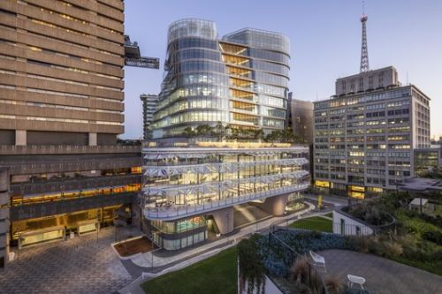 FJMT's UTS Central Academic Hub Opens to the Public in Sydney