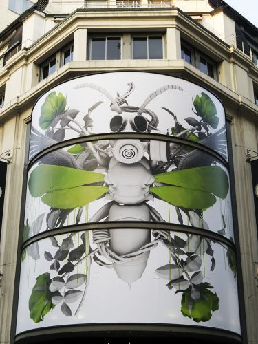 Ludo new installation at Citadium, Paris