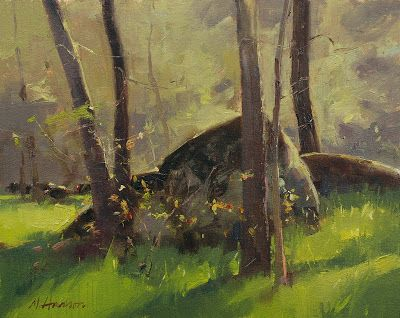 TURKEY WOODLAND - DAILY PAINTWORKS AUCTION