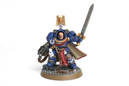 Showcase: Ultramarines Captain in Terminator Armour