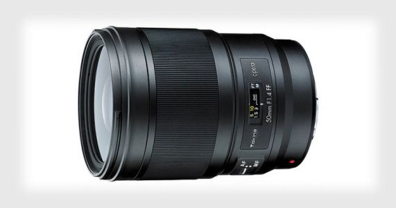 Tokina Unveils the Opera 50mm f/1.4 Lens for Canon and Nikon