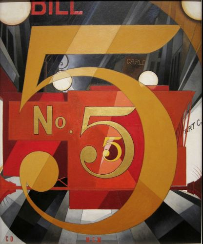 Charles Demuth. Born on this day in 1883